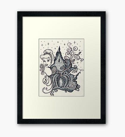 Iconic C Framed Print