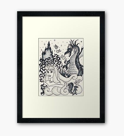 Iconic A Framed Print