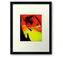 self portrait.... Framed Print
