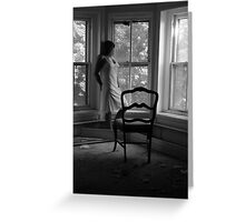 Beautifully Mysterious Self-Abandoned Potraiture, Self- 3 Greeting Card