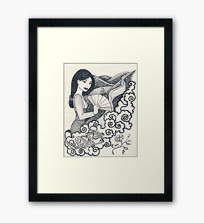 Iconic M Framed Print