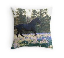 Early Morning Dream Throw Pillow