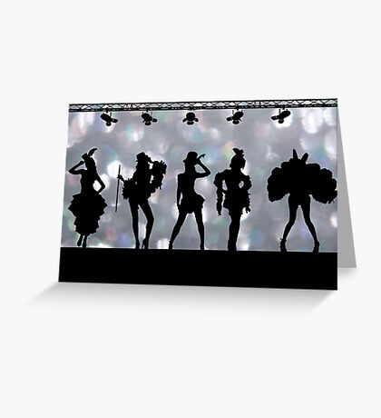 Welcome to Burlesque Greeting Card