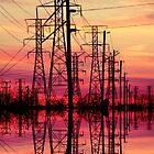 Powerful sunset. by Beata  Czyzowska Young