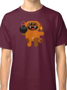 DOG 4 (Cute pet has a bomb and its alight!) Classic T-Shirt