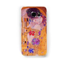 The Kiss - Gustav Klimt - Blue Highlights Samsung Galaxy Case/Skin
