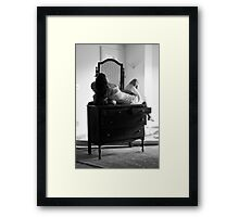 Beautifully Mysterious Self-Abandoned Potraiture, Self-6 Framed Print
