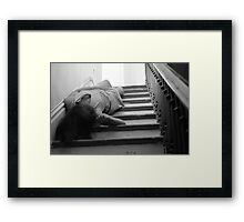 Absinthe Drinker- Beautifully Mysterious Self-Abandoned Potraiture, 7 Framed Print