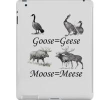 Moose Meese iPad Case/Skin