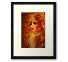 High Priestess Fire Framed Print