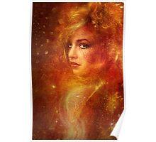 High Priestess Fire Poster