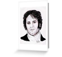 Colin FIRTH - unforgettable Mr Darcy Greeting Card