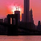 MANHATTAN SUNSET by KENDALL EUTEMEY