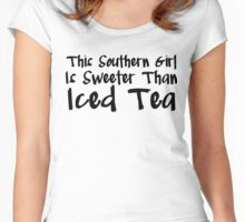 Southern Girl Women's Fitted Scoop T-Shirt