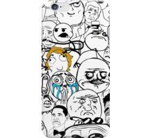 Meme compilation iPhone Case/Skin