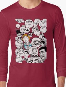 Meme compilation Long Sleeve T-Shirt
