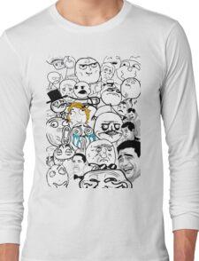 Meme compilation Long Sleeve T-Shirt