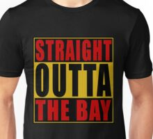 Straight Outta The Bay Gold Red Unisex T-Shirt
