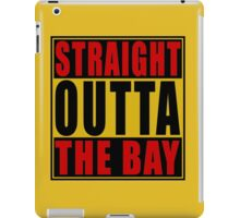 Straight Outta The Bay Gold Red iPad Case/Skin