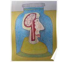 Broca's Brain - the area of the brain that handles speech. Poster
