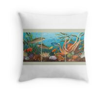 Puget Sound, Beneath the Surface Throw Pillow