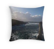 Orkney Coast Throw Pillow
