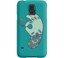 Blue Feather Tattoo Samsung Galaxy Case/Skin