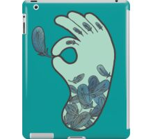 Blue Feather Tattoo iPad Case/Skin