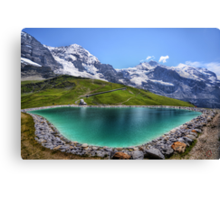 Alpen Emerald Canvas Print