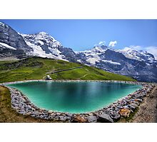 Alpen Emerald Photographic Print