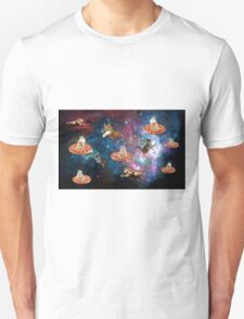 pizza cat in space T-Shirt