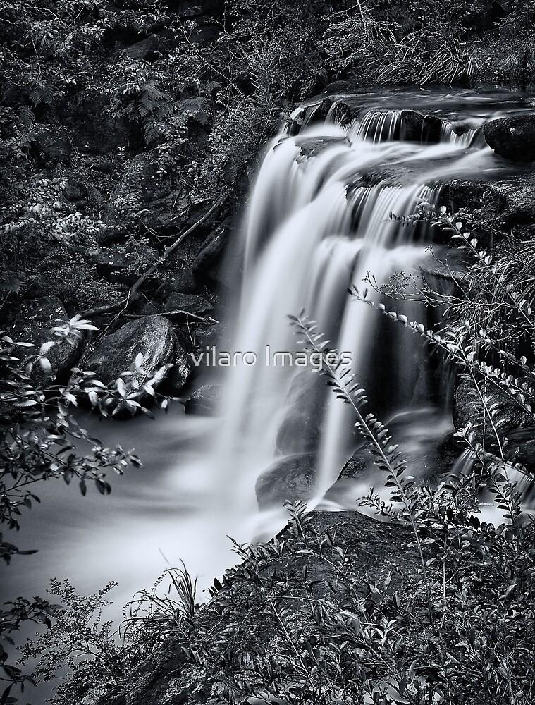 Sydney waterfalls - Hunts Creek #4 by vilaro Images