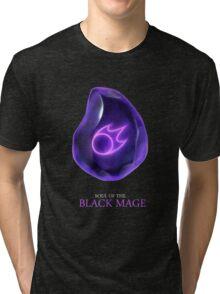 Soul of the Black Mage -black Tri-blend T-Shirt