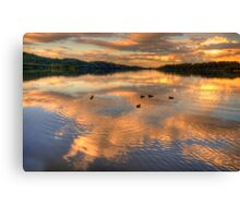 Serenity - Narrabeen Lakes ,Sydney Australia - The HDR Experience Canvas Print