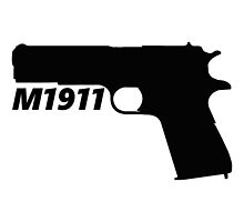 M1911 Pistol by Dominic Toms