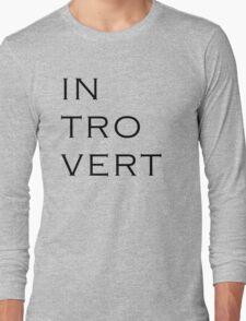 INTROVERT Long Sleeve T-Shirt