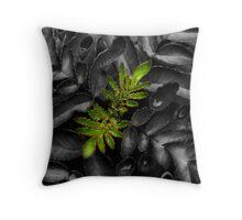 Plant Macro Throw Pillow