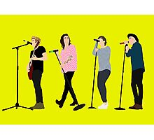 One Direction 8 Photographic Print