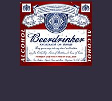 Beerdrinker Parody Beer Logo Unisex T-Shirt