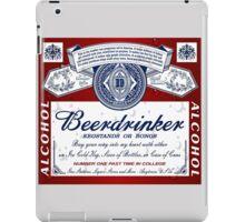 Beerdrinker Parody Beer Logo iPad Case/Skin