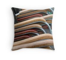 Chairs Throw Pillow