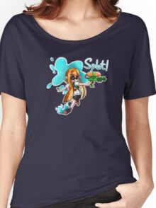 Inkling Splat Shirt Women's Relaxed Fit T-Shirt