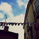 Laundry at Lsiboa by Darta Veismane