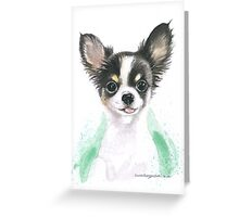 Chihuahua puppy Greeting Card