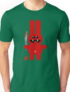 RABBIT 2  (Cute pet with a sharp knife!) Unisex T-Shirt