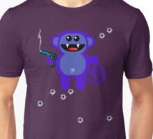 MUNKEY 5 (Armed and highly dangerous!) Unisex T-Shirt