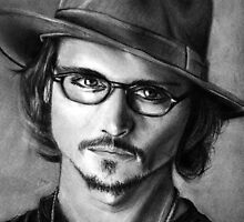 Johnny Depp by Danny Pettinger
