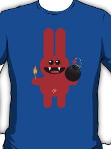 RABBIT 4  (Cute pet has a bomb and its alight!) T-Shirt