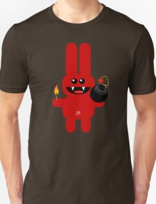 RABBIT 4  (Cute pet has a bomb and its alight!) Unisex T-Shirt