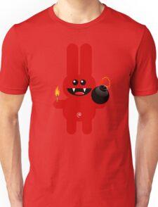 RABBIT 4  (Cute pet has a bomb and its alight!) Unisex T-Shirt
